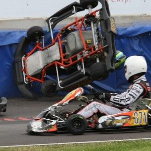 GoCart Racing Accident and Head Injuries